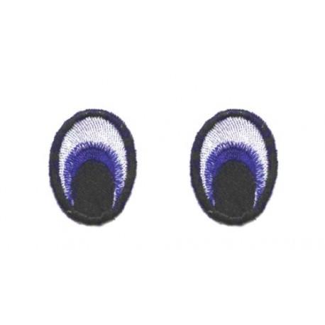 Oczy Eliptyczne kolorowe 39X28