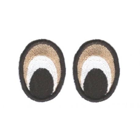 Oczy Eliptyczne kolorowe50X30