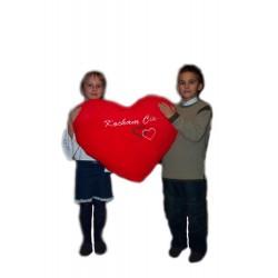 Serce Duże z Haftem
